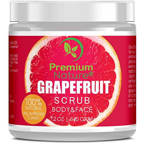 Pink Grapefruit Body Scrub - 4