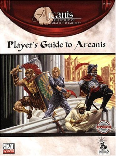 The player's guide to arcanis paradigm concepts, inc. | arcanis.