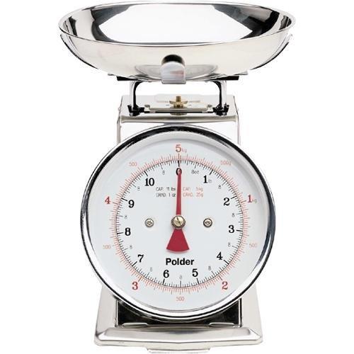 Polder 11-Pound Stainless-Steel Kitchen Scale 2