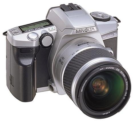 amazon com minolta maxxum 5 35mm slr kit with 28 100 lens slr rh amazon com Minolta Maxxum 5 Instruction Manual Minolta Maxxum 5 Review