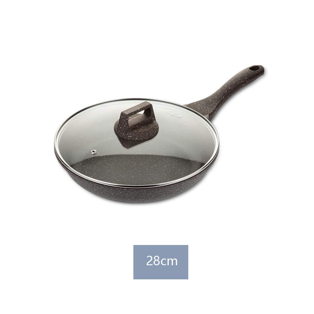 Lili Maifanshi Pan Antiadherente Sartén Sartén Sartén Pancake Pan Omelette Pan Pequeña Cocina De Inducción Cocina De Gas Universal (Tamaño : L): Amazon.es: ...