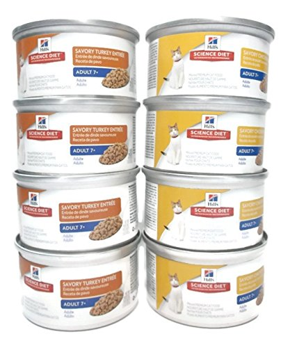 Hill's Science Diet Senior Mature Adult 7+ Wet Cat Food Bund