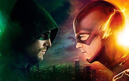 Arrow VS The Flash TV Series Poster