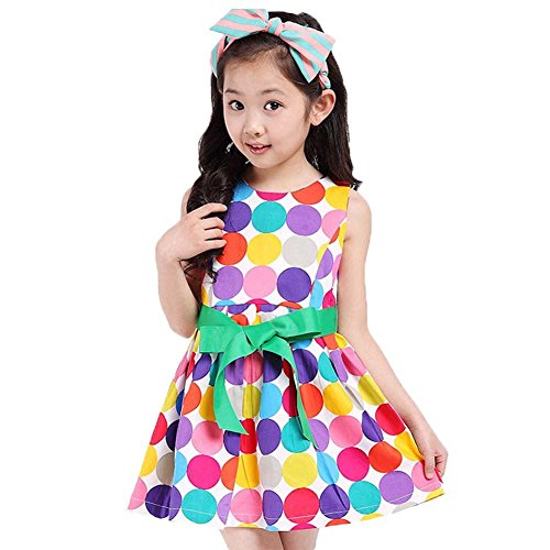 ftscq-girls-colorful-polka-dot-butterfly-knot-sleeveless-princess-white-dress100cm