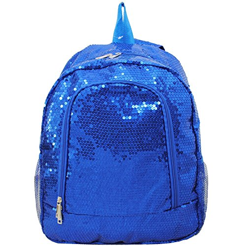 NGIL Sequins School Backpacks (Royal Blue) -