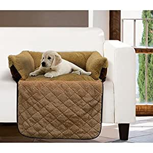 Amazoncom couch pet bed pet couch cover dog sofa bed for Furniture covers for pets amazon
