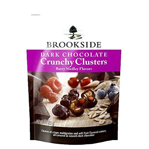 Brookside Dark Chocolate Crunchy Clusters Berry Medley, 2...