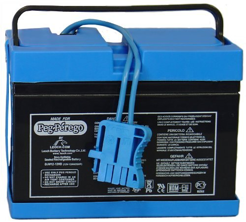 Peg Perego Battery - Peg Perego Blue Battery 12 Volt (Drop Ship Pack) by Peg Perego IAKB0501