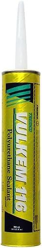 Tremco Vulkem V116GRY 116 Polyurethane Sealant - 10.1 oz Tube - Gray