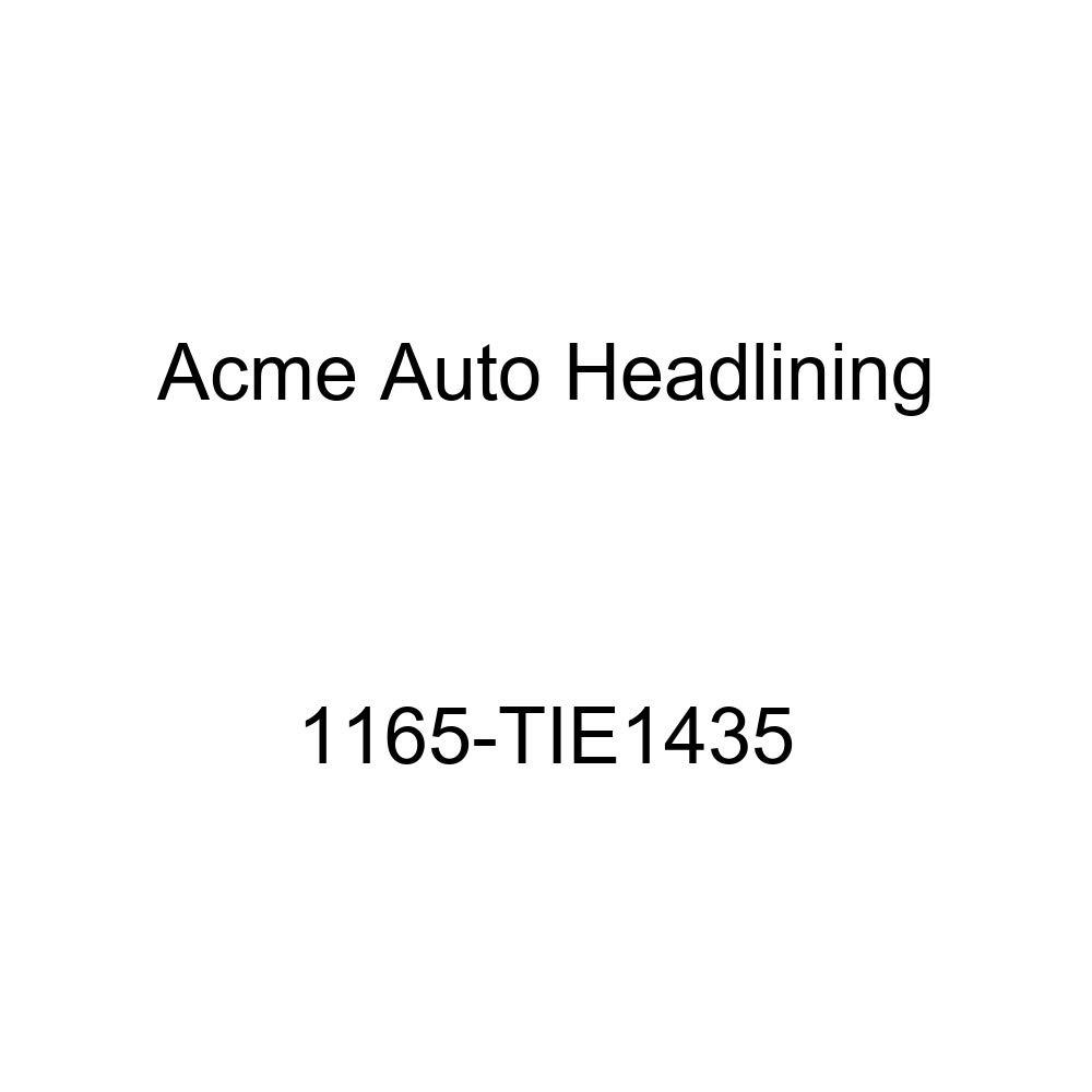 1956 Buick Century 2 Door Riviera Hardtop 6 Bows Acme Auto Headlining 1165-TIE1435 Tan Replacement Headliner