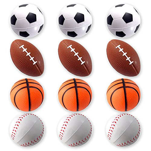 Football Themed Favors - Mini Sports Balls for Kids Party