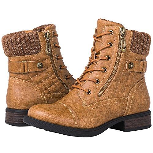 GLOBALWIN Women's 1821 Camel Fashion Boots 8.5M]()