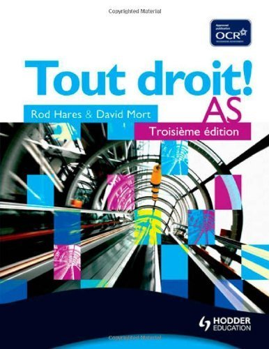 Tout Droit! AS Third edition Student's Book by Mort, David, Hares, Rod (2008) Paperback