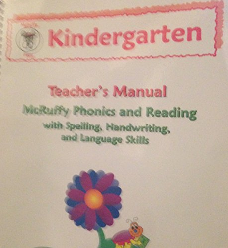 Mcruffy Press - McRuffy Press Phonics and Reading Kindergarten Teacher's Manual plus student readers