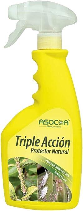 ASOCOA - Triple Acción Insecticida, Fungicida y Acaricida. Antiplagas Ecológico para Todo Tipo de Plantas.: Amazon.es: Jardín