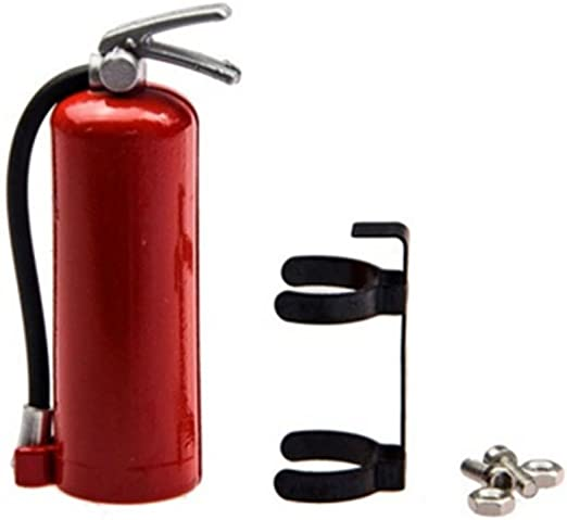1//10 RC Crawler Accessory Parts Fire Extinguisher Kit For Axial SCX10 TRX4