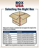 """BOX USA B201412 Corrugated Boxes, 20""""L x 14""""W x"""