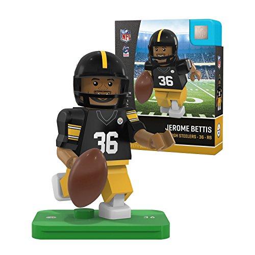Oyo Sportstoys NFL Pittsburgh Steelers Sports Fan Bobble Head Toy Figures, Black/Yellow, One Size