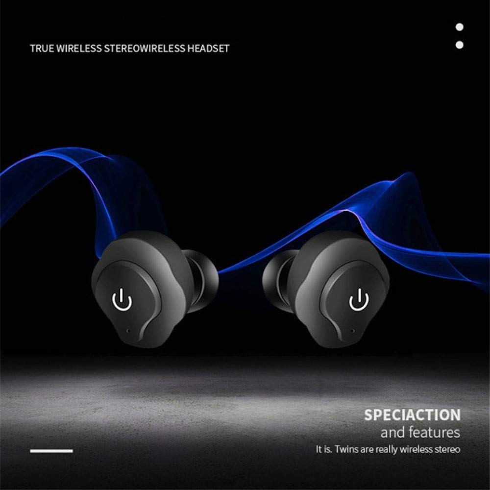 Auriculares inalambricos,Morwind Mini in Ear Wireless Bluetooth Earbuds Stereo Headphones Sport Auriculares Deportivos Noise Cancelling Earphones Cascos de ...