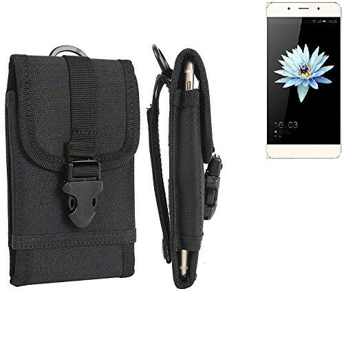 bolsa del cinturón / funda para Hisense C1, negro | caja del teléfono cubierta protectora bolso - K-S-Trade (TM)
