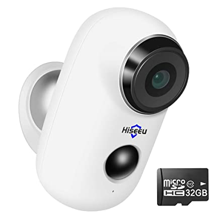 Battery Operated Security Camera >> Amazon Com 32gb Preinstalled Battery Powered Security Camera