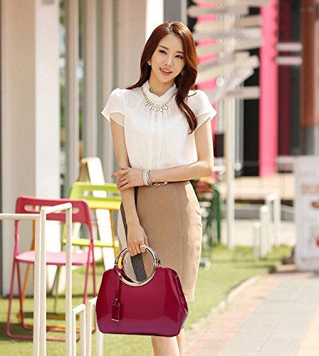 Nuptiale Femmes Bag Fashion XCF rouge Trend Messenger Handbag Mouchoir Shoulder rose WLQ Mariage Atmosphérique Personnalité Sauvage Bags Uxwwv1Anq