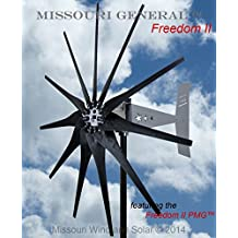 2000 Watt 11 Blade Missouri General Freedom II Wind Turbine