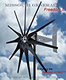 2000 Watt 11 Blade Missouri GeneralTM Freedom II Wind Turbine