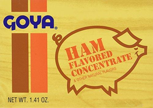Goya Ham Flavored Concentrated Seasoning 1.41oz | Sabor a Jamon (Pack of (Goya Seasoning)