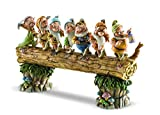 Disney Traditions by Jim Shore Snow White and the Seven Dwarfs Heigh-ho Stone Resin Figurine, 8.25''