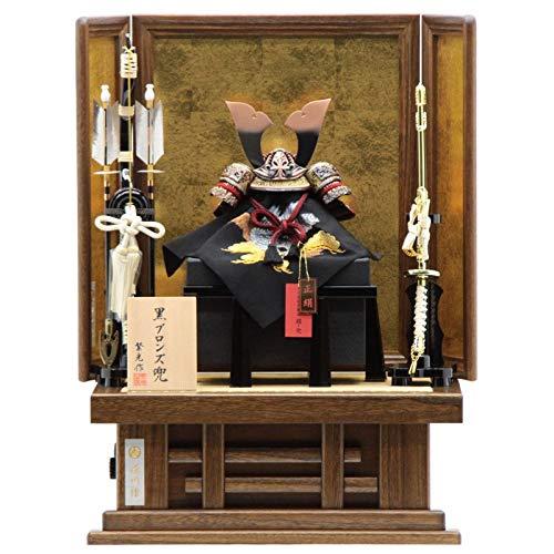五月人形 兜平飾り【炎魔】7号 幅50cm[195it1089]繁光 端午の節句 B07MVR4VL3