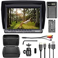 Neewer NW759 Camera Field Monitor Kit:7 inches Ultra HD...