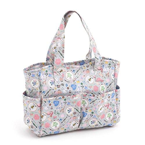 Hobby Gift 'Homemade' Matt PVC Craft Bag 12.5 x 39 x 35cm (d/w/h)