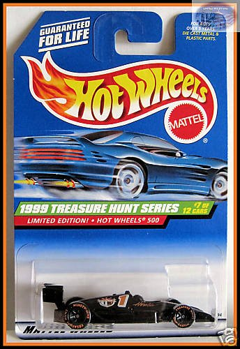 Mattel Hot Wheels Treasure Hunt 1999 Hot Wheels 500 Limited Edition 7 of 12