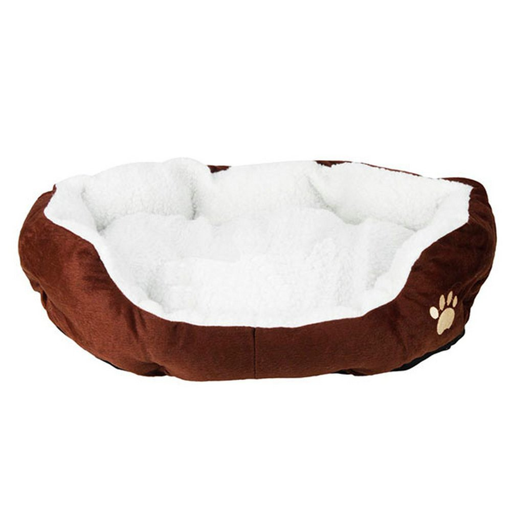 70%OFF Comfortable Pets Dog Cats Puppy Kitten Soft Fleece Bed Nest Pad Mat S L 5 Colors