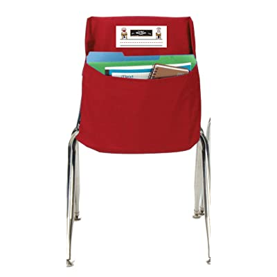 Seat Sack Storage Pocket, Standard, 14 Inches, Red: Industrial & Scientific