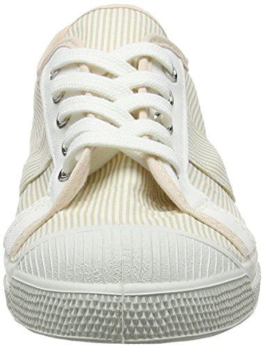 Tennis Ginnastica 0118 Da beige Beige Bensimon Scarpe Stripe Kelly AIqwSC