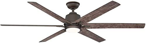 Kensgrove 64 in. LED Espresso Bronze Ceiling Fan