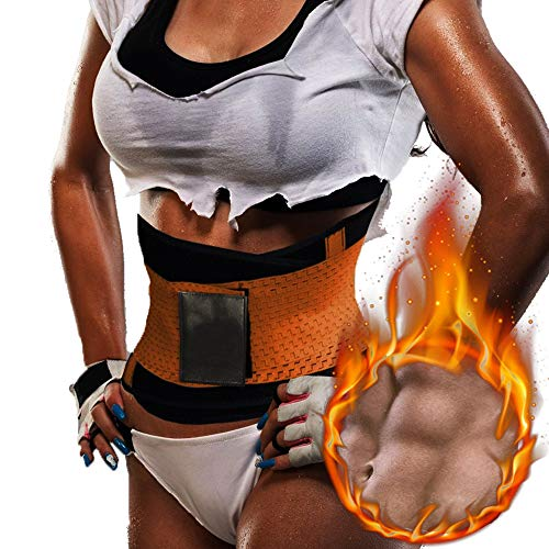 6b08e51d67 KIWI RATA Slimming Thermo Power Fitness Belt Thermo Shaper Xtreme Sport Faja  Orange M