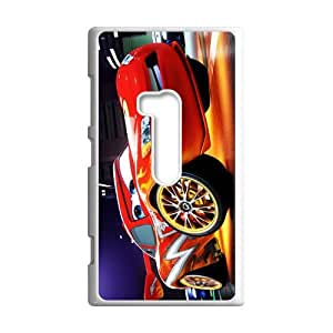 Animated Film&Cars 2 World Grand Prix Case Cover for Nokia Lumia 920- Personalized Cell Phone Protective Hard case Shell