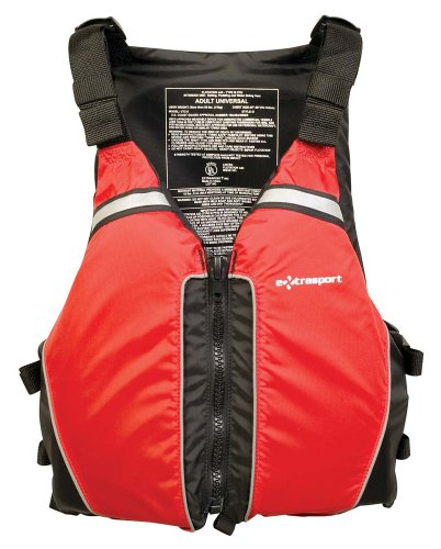 Extrasport Universal Type III PFD (Red, One-Size) price