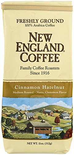 (New England Coffee Cinnamon Hazelnut, 11 Ounce)