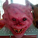 HOMEE Halloween Ghost Houses an Atmosphere of Terror and Decorated Caps Props Emulation Biochemical Coliform Zombie Masks, Fleshy Kwan,Long ear tip Bluetooth developing