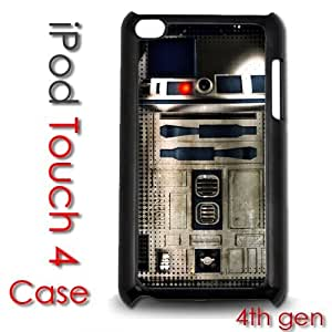 IPod Touch 4 4th gen Touch Plastic Case - R2D2 Robot Star Wars