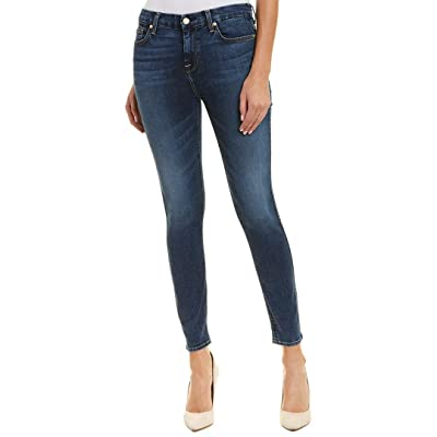 7 For All Mankind Womens B(Air) High-Waisted Ankle Skinny in Echo: Clothing