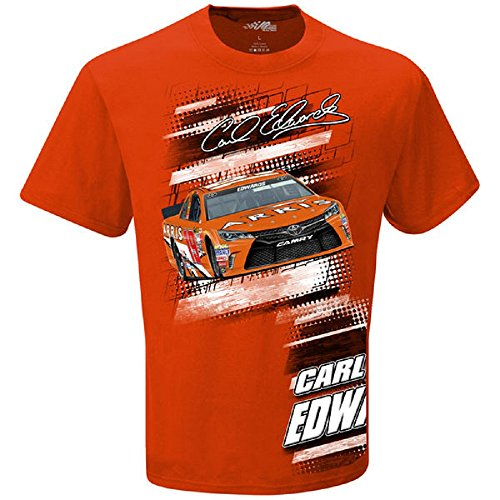 Carl Edwards Joe Gibbs Racing Slingshot T-Shirt - Orange (XXX-Large)
