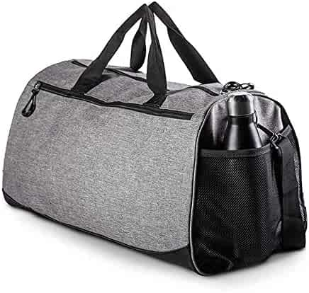 Waterproof Large-Capacity Fitness Bag Large Size: 452525cm Sports Bag Short-Distance Travel Bag with Independent Shoe Warehouse Mens and Womens Football Basketball Training Bag