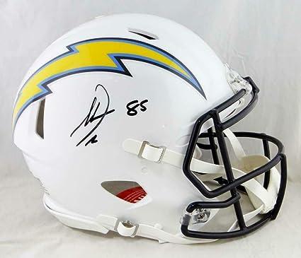 cb007f94b Antonio Gates Autographed Helmet - F S Speed Authentic Beckett - Beckett  Authentication - Autographed NFL Helmets