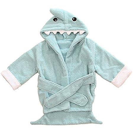 Kapuzenbadetuch Hai rosa Lexikind Kapuzenhandtuch Baby: Frottee Bademantel Babyhandtuch mit Kapuze