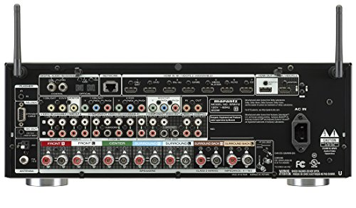 Marantz SR5012 7.2 Channel Full 4K Ultra HD Network AV Surround Receiver with HEOS Black, Works with Alexa
